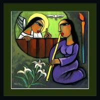 Annunciation - Dr. He Qi