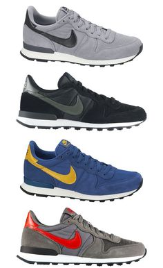 Nike Internationalist..can't go wrong with a good pair of sneakers and plus these would go great with a nice white t- shirt and classic jeans