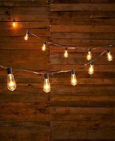 Vintage Edison Bulb Outdoor String Lights Bulbs Lights and Backyard