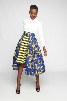 african style ankara print colourful  fashion kaela-kay-fw16-5 African Inspired Fashion, African Print Fashion, Africa Fashion, Fashion Prints, Fashion Design, African Prints, Men's Fashion, African Dresses For Women, African Wear