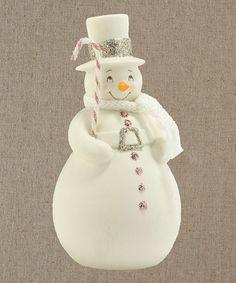 This Dream Snowman Figurine by Department 56 is perfect! #zulilyfinds