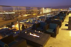 Sky Terrace...ooooh, the view!  Silicon Valley Capital Club, San Jose, CA