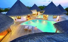 Holidaying in the Maldives