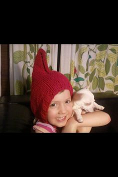 The Gnome Hat any color by rosemarysbabymek on Etsy