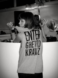 Nina Kraviz my inspiration