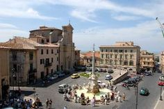 Tarquinia. I want to go here to see the Etruscan architecture and history.
