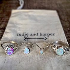 Indie and Harper Rings