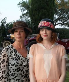 The first pictures from Woody Allen's next film, Magic in the Moonlight