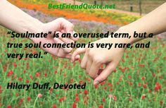 A great quote from Hillary Duff