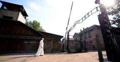 El papa en Auschwitz. En una visita para rendir homenaje a los más de 1 millón de víctimas –en su ma... - Semana