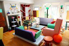 Memphis design interior