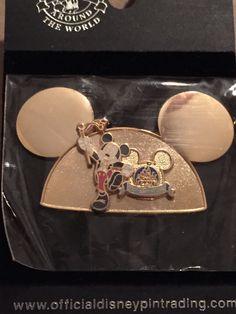 Golden Mickey Ears Mickey Walt Disney World Pin (Happiest Celebration on Earth)