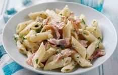Lower-fat Penne Carbonara | Dinner Recipes | GoodtoKnow