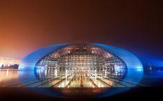 National Grand Theatre, China  #architecture #art