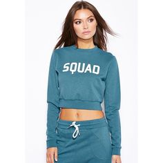 SQUAD Crop Sweater – Fashion Gal Freedom