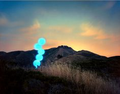 Barry Underwood builds on-site installations to create stunning photographs. Using long exposure camera techniques, he creates light paintings in many of his photographs, but not like any you've seen before. Inspired by cinema, land art, and contemporary painting, the resulting photographs are both surreal and familiar.