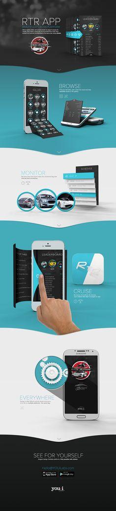 25 présentations originales pour des web design en full-page Web Mobile, Mobile Web Design, Web Ui Design, Application Design, App Design Inspiration, Design Ideas, Apps, Mise En Page Web, Design Reference