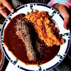 Pollo en Mole Poblano (Chicken with Puebla-Style Mole Sauce) | SAVEUR