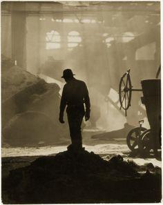 Luke Swank, Steel Worker in Foundry
