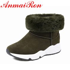 Find More Ankle Boots Information about ANMAIRON Winter New Fashion Boots Slip On Round toe Flat Heel Boots 3Color Black Grey Green Platform Shoes Ankle Boots For Women,High Quality ankle boots for women,China boots fashion Suppliers, Cheap fashion boots from Savvy shoes on Aliexpress.com