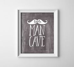 Buy One Get One Free Art Print Little Man Cave by ThePrintAnnex
