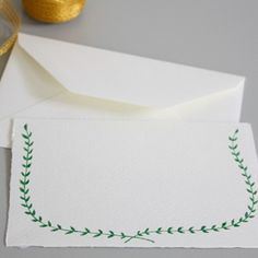 Garland in Green by Linea Carta on Etsy
