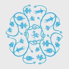 Icelandic heritage pattern