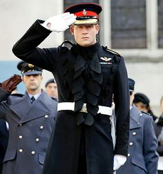 Because it's Thursday and because you deserve a little something to get you to Friday, we present: Prince Harry in uniform!