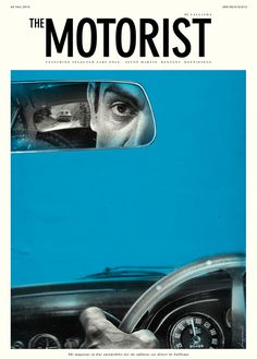 the motorist and its wonderfully trippy colors #graphicdesign #magazines