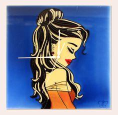 Kézzel festett üvegóra - Csipkerózsika Disney Characters, Fictional Characters, Magic, Disney Princess, Glass, Anime, Art, Art Background, Drinkware