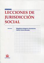 Lecciones de jurisdicción social / directores, Magdalena Nogueira Guastavino, Gabriel García Becedas