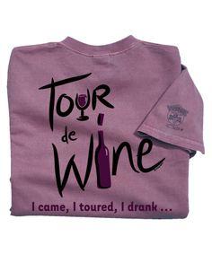 Tour De Wine - Wine-Dyed The Classic Crew Kids Shirts, T Shirts For Women, Crazy Shirts, Crew Neck Shirt, Wine, Sweatshirts, Classic, Fashion, Derby