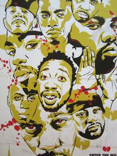 WuTang Clan Enter The 36 Chambers Digital Art by taylorlindgrenart, $20.00