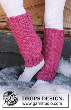 Children - Free knitting patterns and crochet patterns by DROPS Design Crochet Leg Warmers, Diy Crochet And Knitting, Crochet Socks, Knitting For Kids, Knitting Patterns Free, Free Knitting, Free Pattern, Crochet Patterns, Drops Design