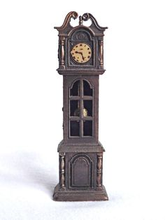 Die Cast Grandfather Clock Pencil Sharpener, Vintage Pencil Sharpener, Office Supplies, Desk Decor, Retro Pencil Sharpener by AgedwithGraceVintage on Etsy