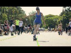 Freestyle Slalom Rosedal - Old School Roller Derby, Roller Skating, Ice Skating, Figure Skating, Quad, Inline Skating, Freestyle, Old School, Youtube
