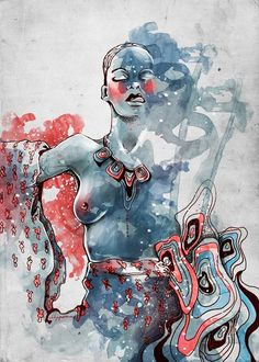 Katerina Murysina | Fashion illustrations | Surrealism