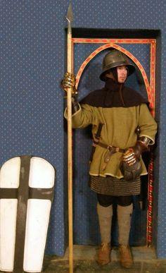 Deutsch Knecht die Mitte des 14. Jahrhunderts