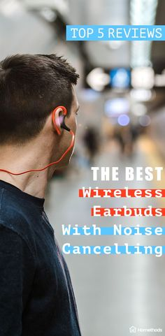 Active noise cancellation will transmit an opposite frequency to outside noises, allowing you to enjoy your audio with less interference from the world around you. Really it's pretty much essential for most people's usage, so you should give it some serious consideration if you're looking into wireless earbuds. #headphones #city #music