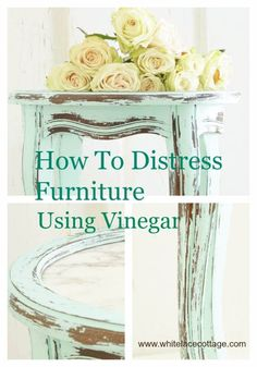 Shabby Chic Decor and Bedding Ideas - Distressed Furnitures - Rustic and Romantic Vintage Bedroom, Living Room and Kitchen Country Cottage Furniture and Home Decor Ideas. Step by Step Tutorials and Instructions http://diyjoy.com/diy-shabby-chic-decor-bedding