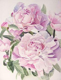 Resultado de imagen para imagenes de pintura acuarela de flores scrap