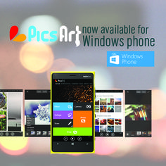 PicsArt is Now Available on Windows Phone!