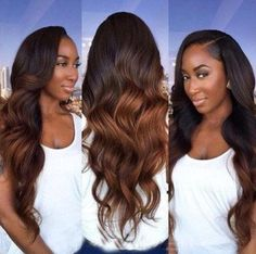 100% Virgin Remy Peruvian Ombre Human Hair 7A Quality. 4 bundles of hair. Color: T1B/33 Can be dyed, bleached, flat ironed, curled & cut. No synthetic hair mixtures Comes from 1 donor With proper care, can last up to 18 months www.shopqueenahairstyles.com