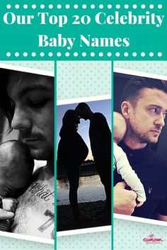 Looking for some baby name inspiration?  Why not check out some our top baby names from our favourite celebrities to get some ideas flowing!