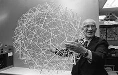 "Buckminster Fuller Biography - Buckminster Fuller invented ""Geodesic Dome"" Richard Buckminster Fuller was a well known American engineer, inventor, architect and author of the Alvar Aalto, Bucky, Richard Buckminster Fuller, Techno, Robert Mallet Stevens, Alexander Technique, Walter Gropius, Safari, Ouvrages D'art"