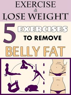 Exercise and lose weight! 5 exercises to remove belly fat - myBeautyHint.com
