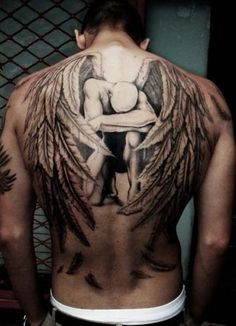 Angel tattoo. WOW