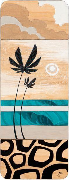 Erik Abel - surf art  I love his work, especially this piece!  http://www.abelarts.com/
