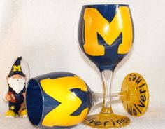 U of M wine glasses, must have!
