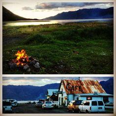Visiting Hope, Alaska in a Camper Van